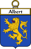 French Coat of Arms Badge for Albert