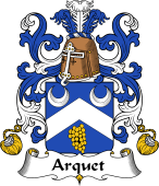Coat of Arms from France for Arquet