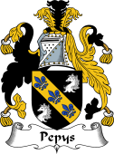 English Coat of Arms for Pepys