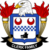 American Coat of Arms for Clerk