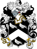 English or Welsh Coat of Arms for Burrell (Northumberland)