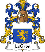 Coat of Arms from France for Gros (le)