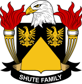 American Coat of Arms for Shute