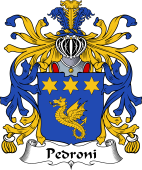 Italian Coat of Arms for Pedroni
