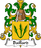 Coat of Arms from France for Baillard