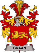 Swedish Coat of Arms for Graan