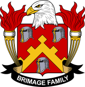 American Coat of Arms for Brimage