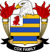 American Coat of Arms for Cox