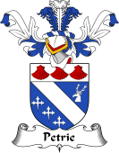 Coat of Arms from Scotland for Petrie