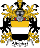 Italian Coat of Arms for Alighieri