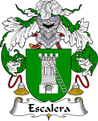 Spanish Coat of Arms for Escalera