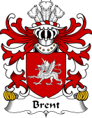 Welsh Coat of Arms for Brent (of Pembrokeshire)