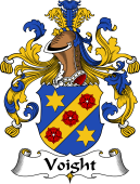 German Wappen Coat of Arms for Voight