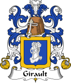 Coat of Arms from France for Girault