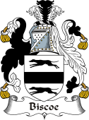 Irish Coat of Arms for Biscoe