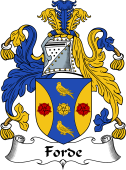 Irish Coat of Arms for Forde