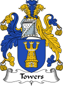 English Coat of Arms for Towers
