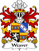 Welsh Coat of Arms for Weaver (or Wever, of Radnorshire)