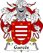 Portuguese Coat of Arms for Garcês