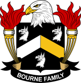 American Coat of Arms for Bourne