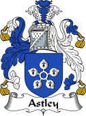 English Coat of Arms for Astley