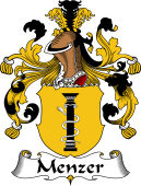 German Wappen Coat of Arms for Menzer