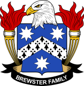 American Coat of Arms for Brewster