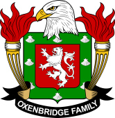American Coat of Arms for Oxenbridge