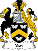 English Coat of Arms for Van (Wales)