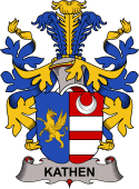 Swedish Coat of Arms for Kathen