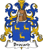 Coat of Arms from France for Brocard