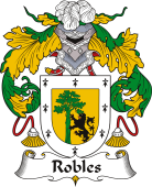 Spanish Coat of Arms for Robles