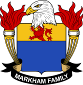 American Coat of Arms for Markham