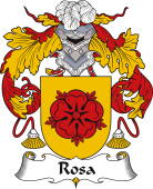 Spanish Coat of Arms for Rosa or Rosas