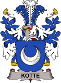 Danish Coat of Arms for Kotte