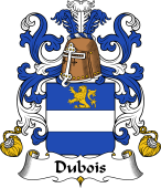 Coat of Arms from France for Dubois I