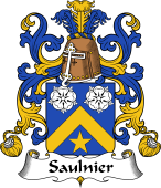 Coat of Arms from France for Saulnier