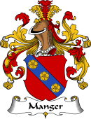 German Wappen Coat of Arms for Manger