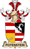 Republic of Austria Coat of Arms for Potenstein