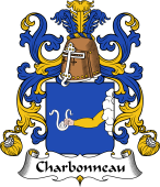 Coat of Arms from France for Charbonneau