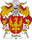 Spanish Coat of Arms for Salvá