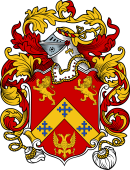 English or Welsh Coat of Arms for Butterworth