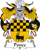 Spanish Coat of Arms for Ponce II
