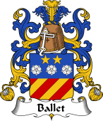 Coat of Arms from France for Ballet