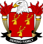 American Coat of Arms for Dering