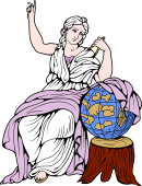 Gods and Goddesses Clipart image: Urania Muse