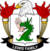American Coat of Arms for Lewis