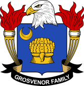 American Coat of Arms for Grosvenor