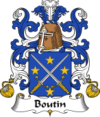 Coat of Arms from France for Boutin