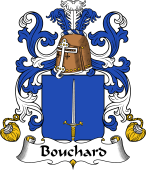 Coat of Arms from France for Bouchard II